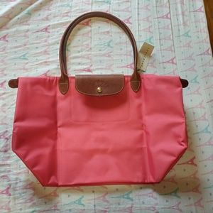 Longshamp large le pliage zip tote